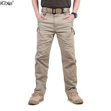 TAD IX9 (II) Для мужчин милитаристский Тактический груз Штаны для прогулки боевая группа захвата армия подготовки военных брюки спортивные брюки для Пеший Туризм Охота