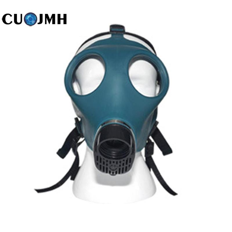 1 Pcs Gas Mask Self-Priming Filter Gas Mask Use for Paint Chemical Gas Mask Respirator Security Tools h1xy 2002 self priming filter gas half mask black