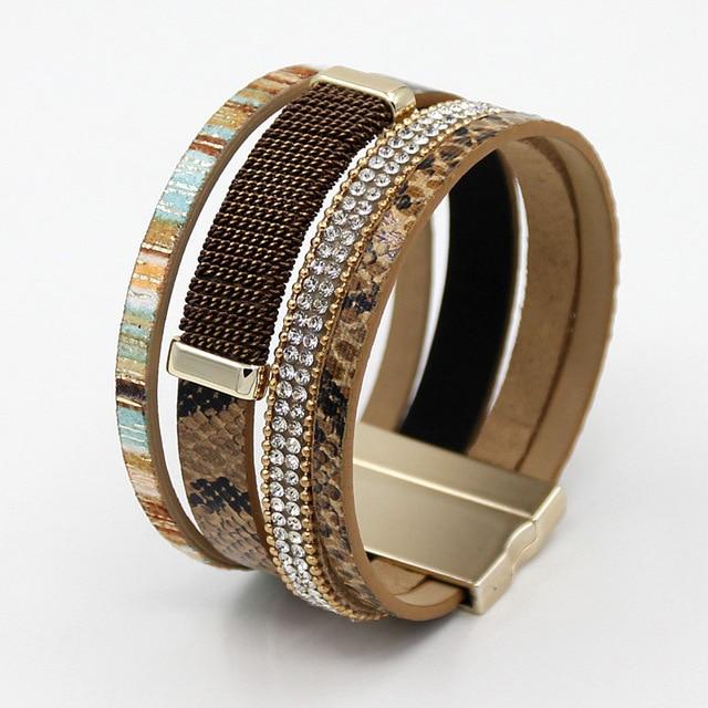 Women Bracelets Multilayer...
