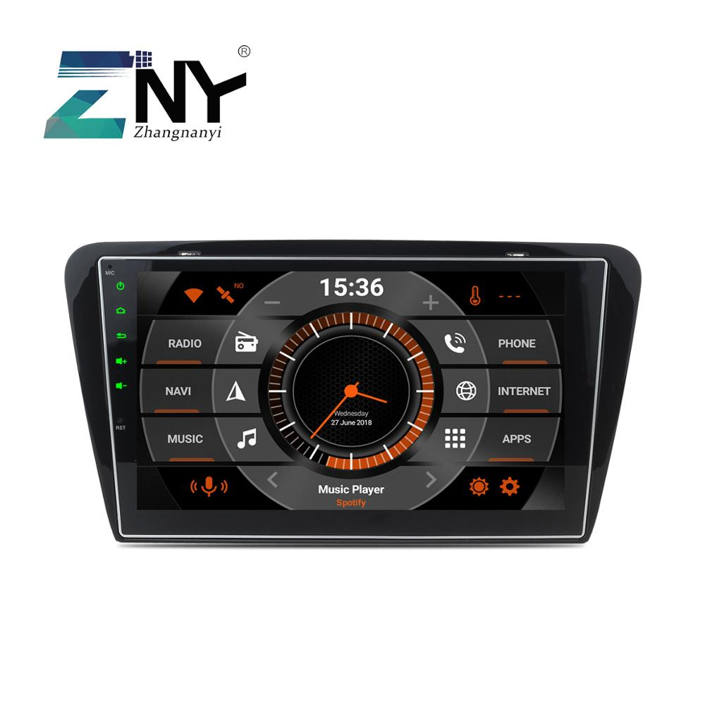 10 1 Android 9 0 font b Car b font Stereo For Skoda Octavia A7 2013