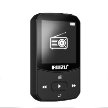 New Arrival Original RUIZU X52 Sport Bluetooth MP3 Player 8gb Clip Mini with Screen Support FM,Recording,E-Book,Clock,Pedometer(China)