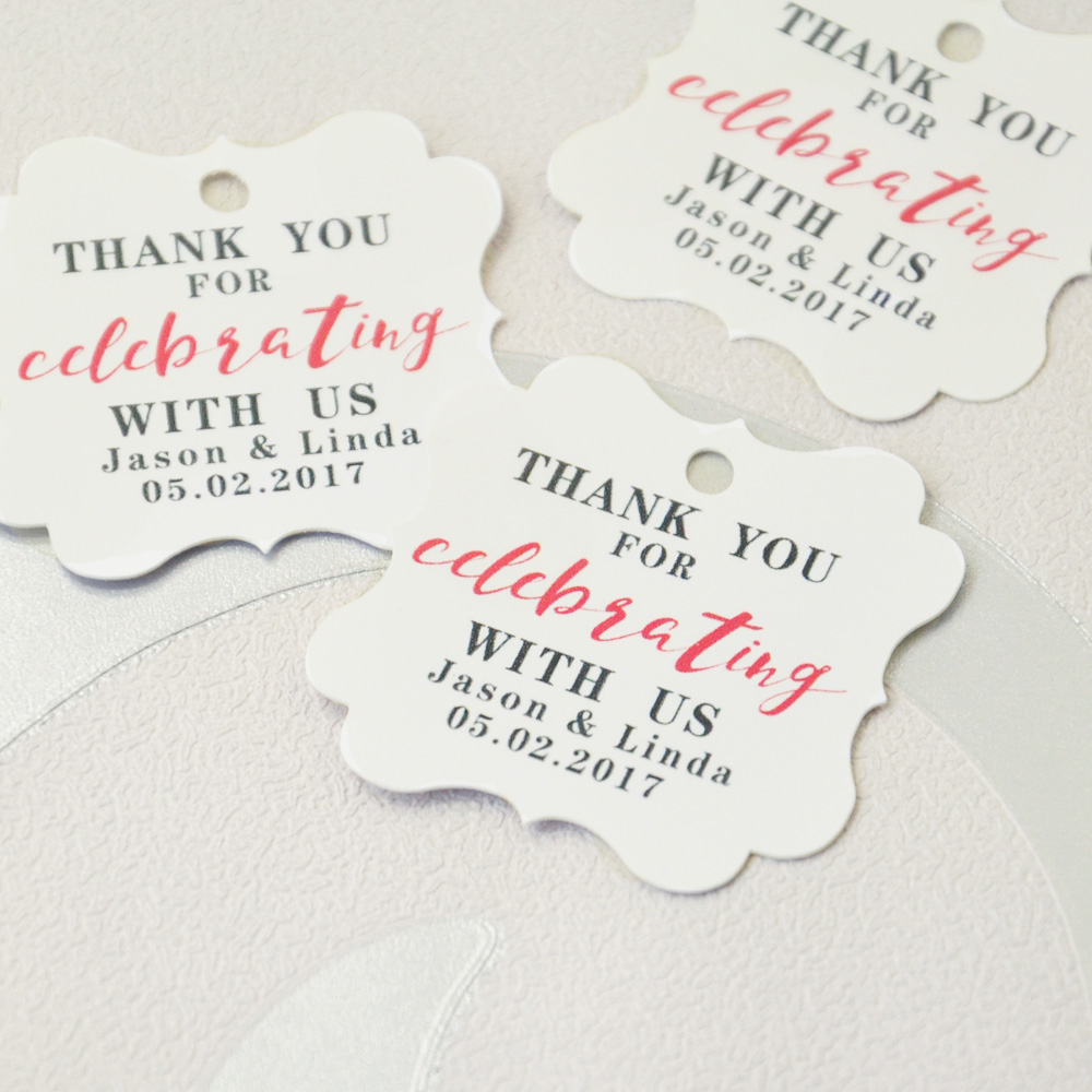 custom wedding tags wedding favor tags personalized wedding gift tag bridal shower gift tag