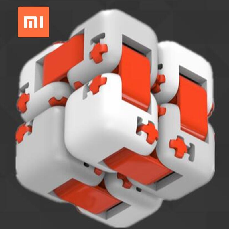 Xiaomi mitu Cube Spinner Smart Fidget Magic Cube with Retail gift box case Kids Toys for Xiaomi Mijia smart home