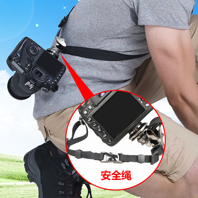 2 in 1 Multi-Functional Bundle Waistband Strap Double Shoulders Strap Kits with Hook for SLR//DSLR Cameras/  PULUZ Multi Camera Carrying Chest Harness Vest System