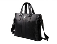 Fashion first layer genuine leather men messenger bags cowhide men s briefcase business shoulder bags laptop