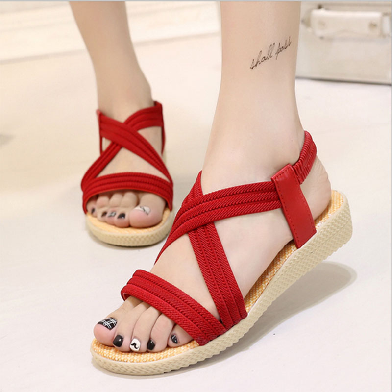 Breathable Platform Sandals Fashion Summer Shoes Woman Casual Shoes Outdoor Slip-on Slippers Girls Anti-skid Mules Zapatos Mujer girl shoes in sri lanka