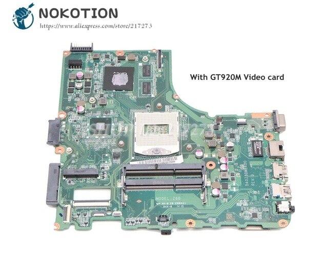 NOKOTION para Acer aspire E5 472G placa base de computadora portátil 14  pulgadas GT920M gpu DA0Z8BMB6D0 NBVAE11001 principal