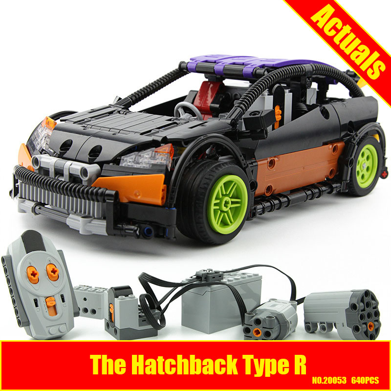 Lepin 20053 Genuine New Technic Series The Hatchback Type R Set MOC-6604 Building Blocks Bricks Educational Toys Boy Gifts Model new lepin moc creative series the assembly square set building blocks bricks boy toys compatible educational figures model gifts
