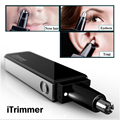 Water Resistant Nose and Ear Hair Trimmer with LED Light Professional Ultra Modern Design