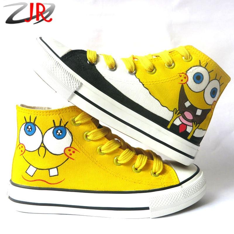 spongebob jordans for children
