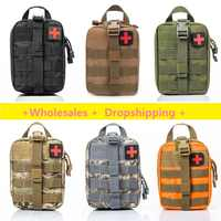 Bolsa de primeros auxilios táctico OUTDA bolsa de Kit médico Molle EMT bolsa de supervivencia de emergencia al aire libre caja médica de gran tamaño bolsa SOS /paquete