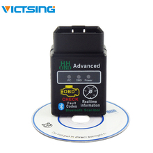 VicTsing Bluetooth OBDII Scanner Code Reader Bluetooth OBD2 Scan Tool f/ELM327 Scanner Code Reader CAN OBD2 Scan Tool Can-Bus