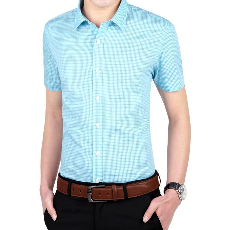 Popular band collar dress shirts buy cheap band collar for Men s collarless banded collar dress shirt
