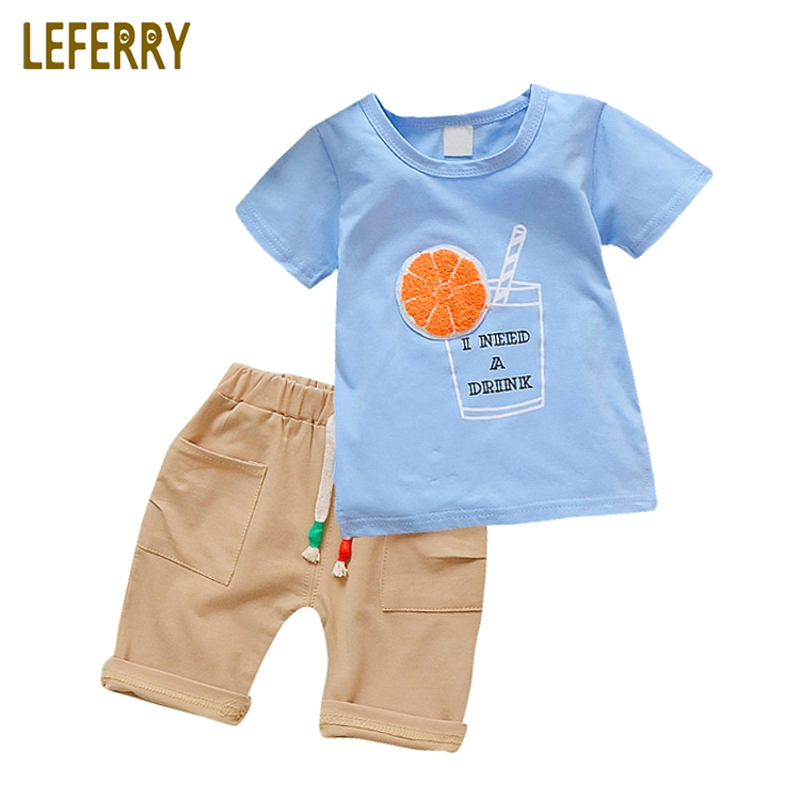 New Fashion Baby Boys Clothing Set Cotton Short Sleeve + Shorts Plaid Kids Clothes Summer Baby Boy Set Gentleman Suit free shipping 2016 summer new arrive letter fashion children boy clothing set 100% cotton short sleeve casual clothes set