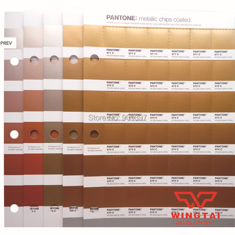 Pantone Metallic Chips Coated GB1507 In Abrasive Tools From