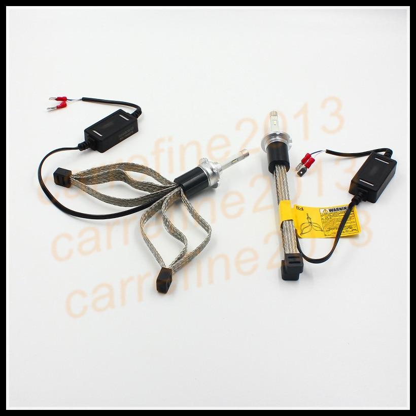 D2S Led Headlight Cars 7600lm Fog Light Kit R4 LED Lamp Xenon Car Styling D2C LED