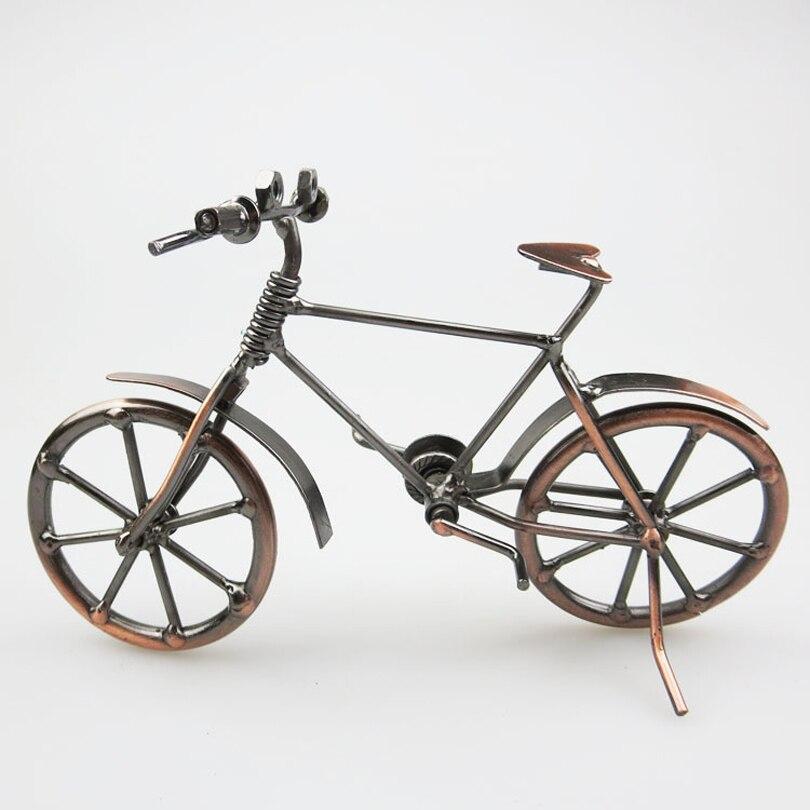 Bronzer fiets model vaders dag creatieve geschenken for Metalen decoratie fiets