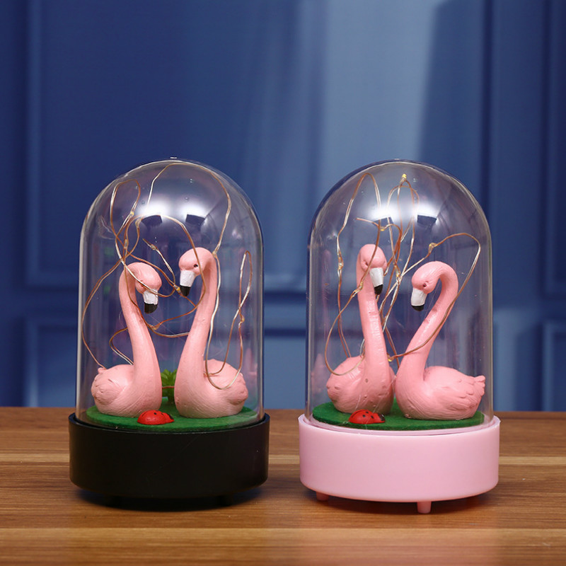 Neon Sculpture Tube Flamingo Neon Night Light Table Lamp Neonlights Sign Handcrafted Home Party Decoration Lighting
