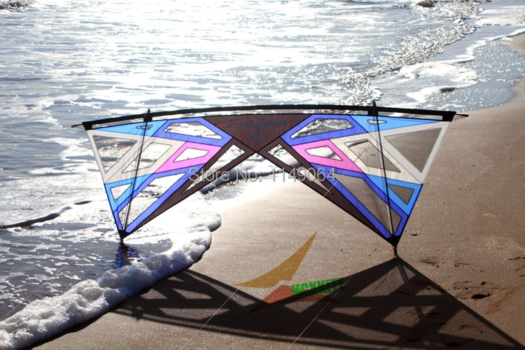 free shipping high quality strong wind storm quad line stunt kite with handle line outdoor toys flying Freilein kite power kite freilein windrider quad line stunt kite set outdoor power kite flying handles kite line string for competition show