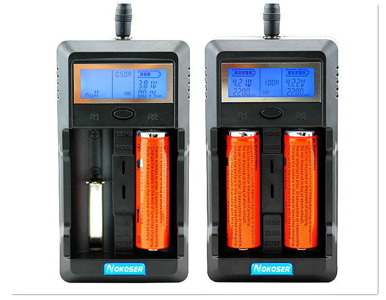 Chargers Test 18650 Test-Battery Tablet Carregador Lcd-Display Capacity
