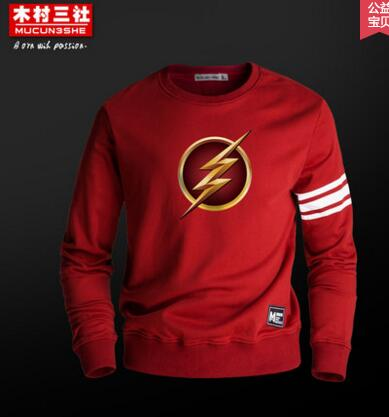 (HD59)Autumn Winter The Average Superhero The Flash Sweatshirt Casual Hoodie Men Cosplay Costume Men's Movie Hoodies Jackets