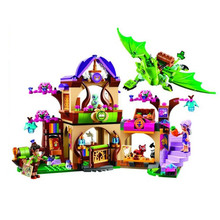 Bela 10504 Fairy Dragon Forest Castle Dragon Minifigures Building Block Bricks Toys Kids Gift New Style Compatible with Legoe