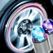 Newest Hot Tire Valve Lamp Flashing LED Light Zinc Alloy Tyre Wheel Light for Car Bicycle