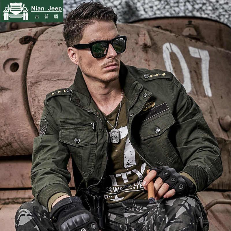 66ac07198b670 New 2018 Autumn Winter Military tactical Pilot Jacket Men Cotton Bomber Jacket  Plus Size 6XL Casual