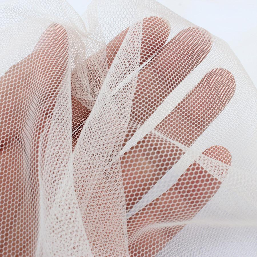 5 jardas/lote (4.5 metros) rede macia de mosquito, malha de fio de tule gaze de tecido festa de aniversário presente de decoração de casamento costura