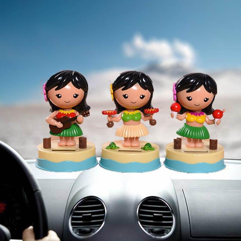 Automobiles & Motorcycles Interior Accessories Car Doll Ornaments Solar Dancer Toy Plastic Cartoon Mousse Creative Auto Dashboard Shaking Head Interior Decoration Accessories