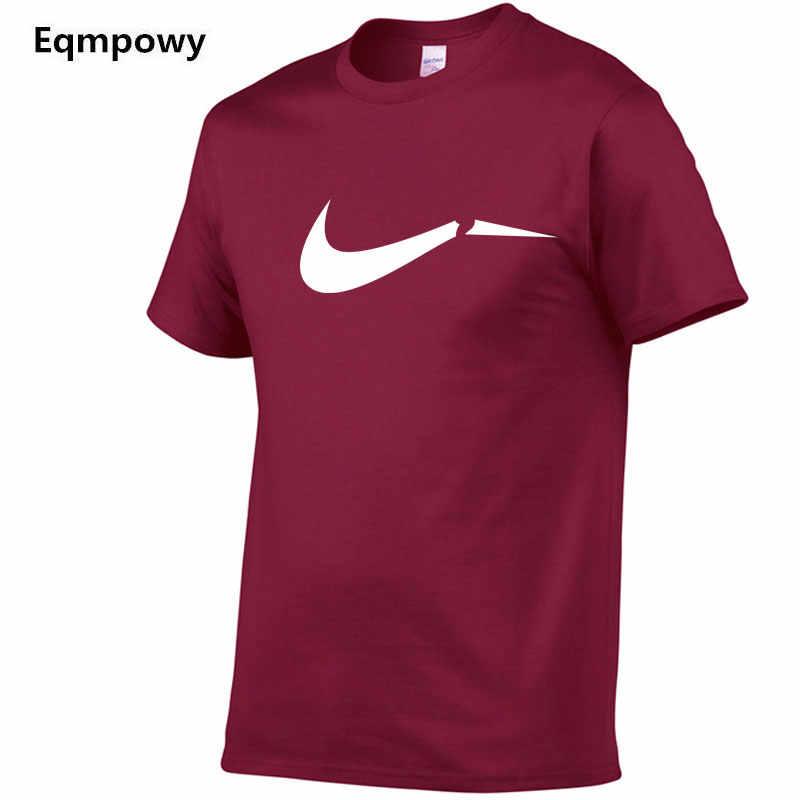 2019 летние новинка, модель высокого качества Мужская футболка свободного покроя с коротким рукавом с круглым вырезом 100% хлопок футболка мужская брендовая белая черная футболка S-XXL