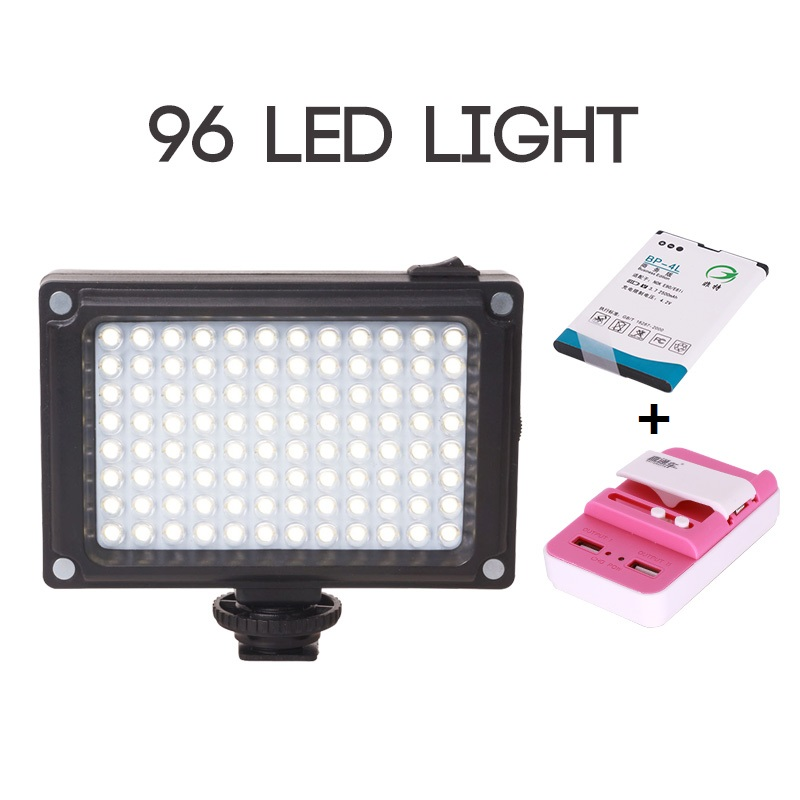 Ulanzi AriLight Mini LED Video Light 96 112 Video Light with Battery Charger Photo Lighting for