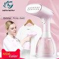 Popular de vaporizador de ropa de alta calidad de los PP 280 ml portátil ropa de hierro de vapor cepillo para casa Humidificador vapor Facial