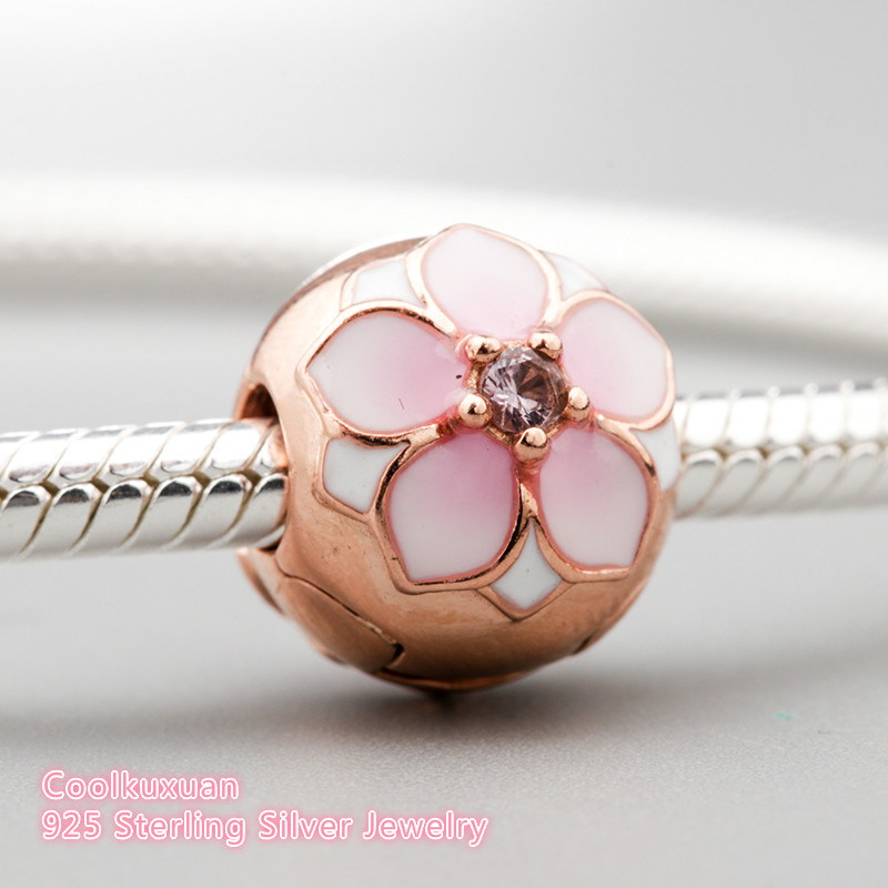 pandora charm magnolia