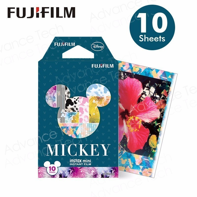 2017 NEW Original Fujifilm Instax mini Mickey mouse new. film 10 sheets for Polariod Camera Instant mini7s 25 50s 90 SP1 lomo
