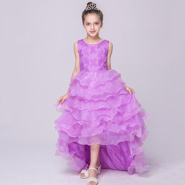 Prinzessin Kinder Kleidung Hochzeit Kleider Tull Kinder Elegante ...