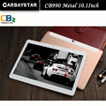 Android планшетные пк CB990 10.1 дюймов металла tablet PC Phone call окта core 4 ГБ RAM 128 ГБ ROM Dual SIM GPS IPS FM bluetooth таблетки