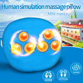 Electronic Infrared Heating Body Massage Pillow Neck Cervical Traction Massager Back Pain Relief Cushion Relaxation Massages