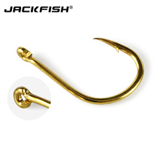 JACKFISH High Carbon Steel Circle Fishing Hooks Set  500Pcs/box Size #3-#12 Freshwater Fishhook Sets Strong Fish Tackle 79#