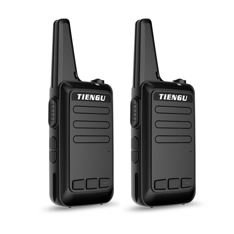 2 pcs C1 potable mini walkie talkie USB charger 5 watt children's radio two way K way station walkie-talkie handphone intercom