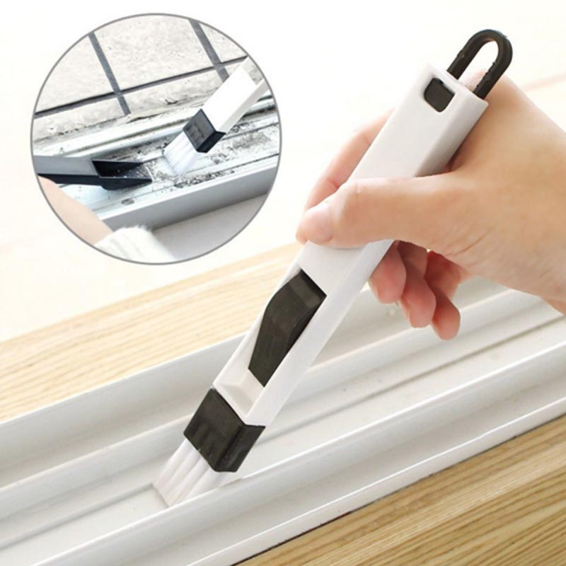 Newest Arrivals Multipurpose Window Door Keyboard Cleaning Brush Cleaner+Dustpan 2 In 1 Tool 2 colors optional 8 vacuum cleaner for sofa