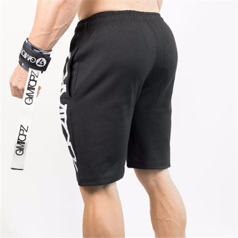 New Fashion Men Shorts Cotton Bodybuilding BeachShorts Sweatpants Fitness Shorts Jogger Casual Gyms Men Shorts Sportswear