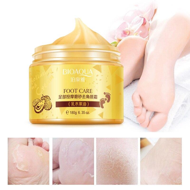 BUQUANYA spa massage scrub feet cream moisturizing peeling whitening socks smooth beauty hand foot care for pedicure exfoliating bioaqua exfoliante para pies
