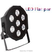 Fast Shipping American DJ Stage Lightings Disco LED Light Wash RGB Uplighting LED SlimPar Tri 7