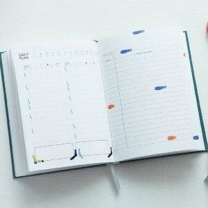 Image 4 - חמוד מכתבים מחברת 365 מתכנן Kawaii A5 חודשי שבועי יומי יומן מתכנן 2019 מחברות כתבי עת ספר