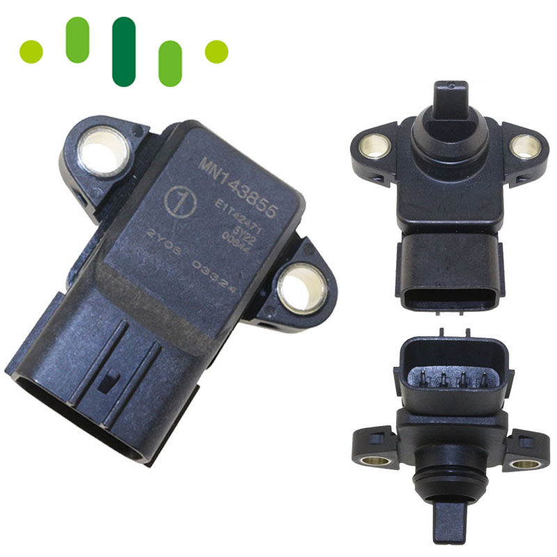 все цены на MN143855 E1T42471 MAP Sensor Intake Manifold Absolute Boost Pressure For Mitsubishi Lancer 9 Pajeiro Turbina L200 1.6L 1.3L онлайн