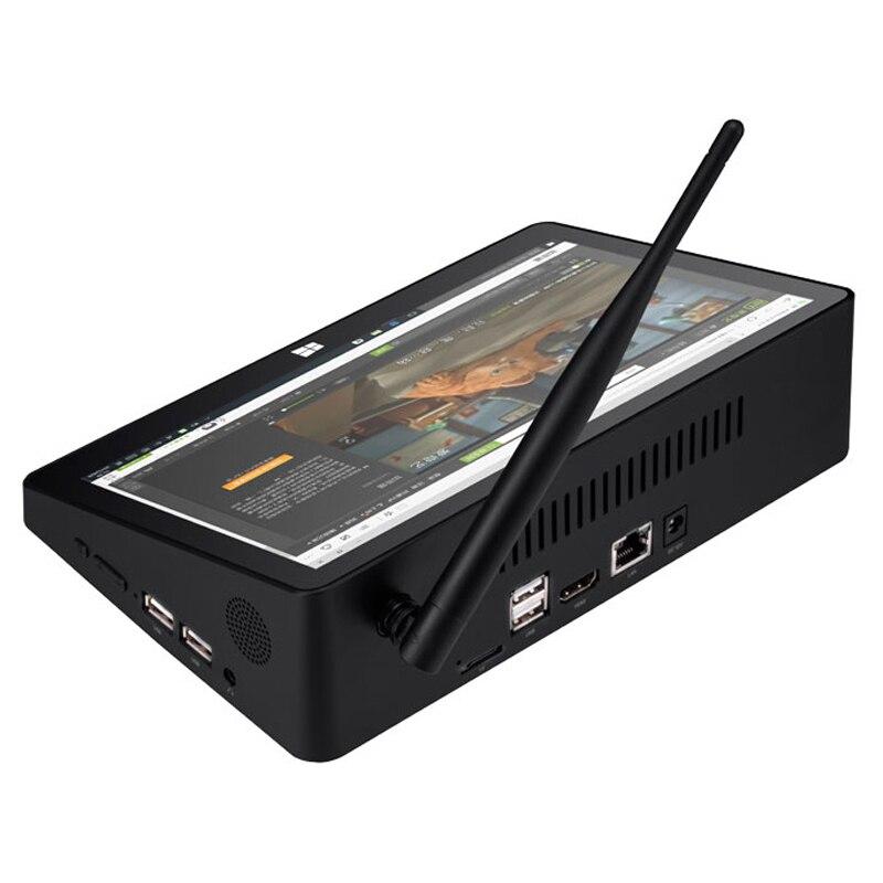 Neue Pipo X9S Win 10 Mini PC Intel Kirsche trail Z8300 Quad Core 4G/64G 2G /32G Smart TV Box 8,9 1920*1080P touch screen Tablet