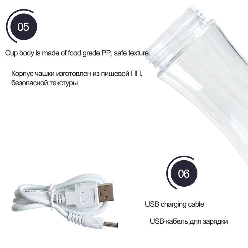 Hydrogen Rich Water Cup Portable USB  Ionizer Dispenser Machine for Office Ladies 260ML FREE SHIPPING