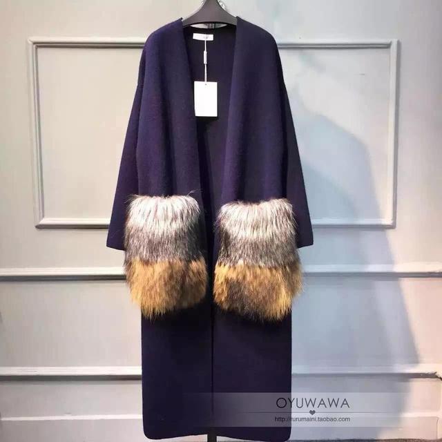 [Soonyour] Высокое Качество 2017 весенняя мода новых женщин большой размер кардиган V-образным Вырезом длинный участок открытого вязать куртка AS14014
