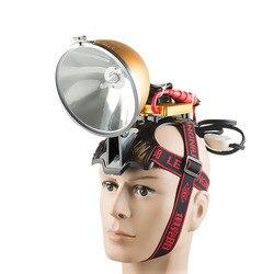 Bright camping 12V 35W HID headlamp 55W fishing lamp head lamp 75W headlight 100W hunting searchlight head light xenon spotlight
